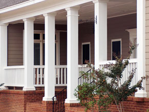 decorative porch columns designs