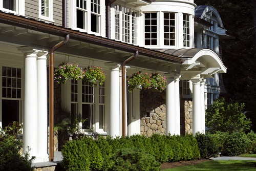 Round Porch Columns - Fiberglass Columns