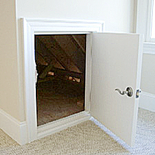 Custom made to fit ANY rough opening & Dormer Doors - Custom Dormer Doors and Hatches pezcame.com