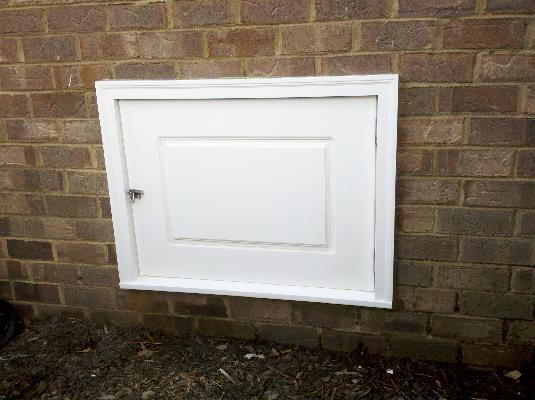 garden system flooding products crawl access doors lg secure our the door turtl well in installed crawlspace space a materials humidity lockable closed